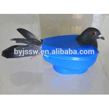 Titular de pombo de plástico para venda