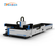 Exchange Worktable And Tube Fiber Laser Cutting Machine