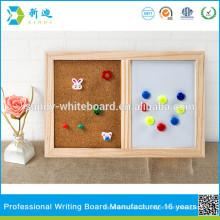 Kork Bord und magnetischen Whiteboard