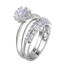ring fashion jewelry couple ring gold plating ring couple jewelry
