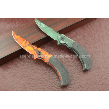 G10 Handle Camping Knife (SE-430)