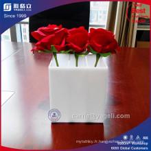 Vente en gros de boîtes en acrylique de luxe avec 3 compartiments