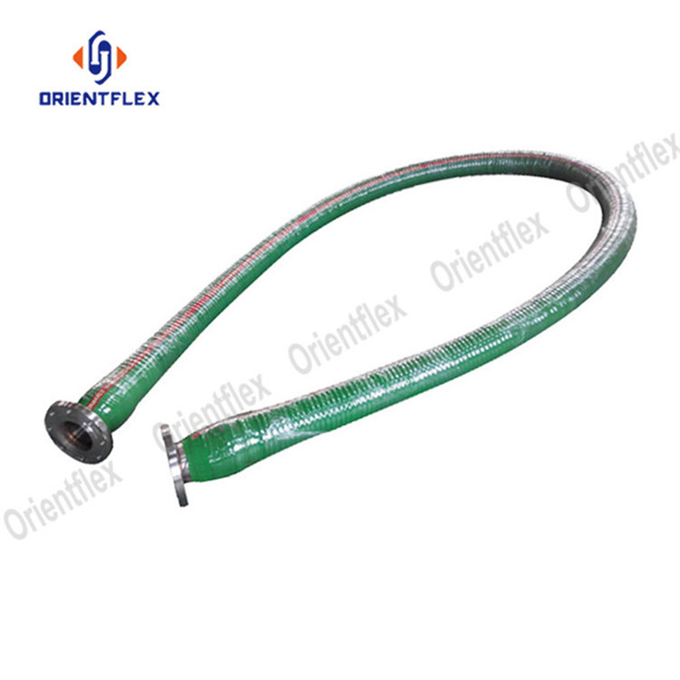Corrugated Uhmwpe Chemical Hose 5