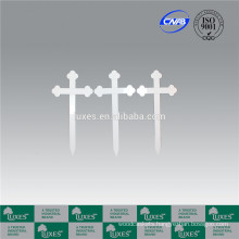 LUXES Funeral Accessories Wooden Cross For Cemetery & Graveyard