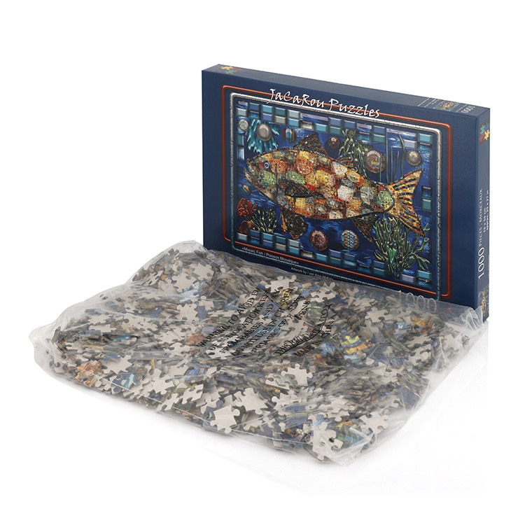 2020 New China manufacturer 1000 pieces puzzle game for adults jigsaw puzzle