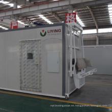 Esterilizador de desechos médicos con desinfección por microondas