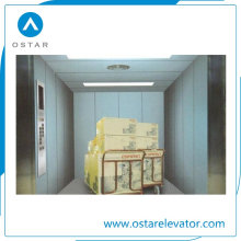 Capacidad de carga grande de 1600 kg Elevador de carga de mercancías Elevador