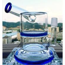 18мм Соединительный миниразмер стеклянной трубки для воды Соты для курения трубы