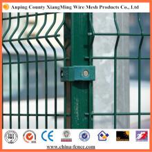 Verzinkte und beschichtete kommerzielle Sicherheit Zaunpaneel Zaun Yard Fechten