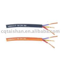 PVC Isolierter Strang flexibler Kupfer Eletrical Wire