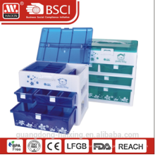 Unité de rangement en plastique populaire (3layers)