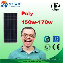 Top Quality 170W 160W 150W Solar Modules PV Panel Price Solar Panels Home