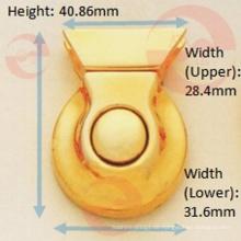 Gold Farbe Zink Legierung Metall Single Point Push Lock