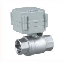 Dn15 1/2′′ 2-Way DC5V Stainless Steel Ball Valve Motorized Control Valve for Drinking Water