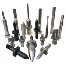 Positioning pins and punches for automobile mold components