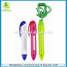 Пластиковый сообщение рекламных талреп перо подгонять логотип