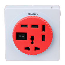 4 Ports USB Charger High Speed OTG USB 2.0 Hub with Switch