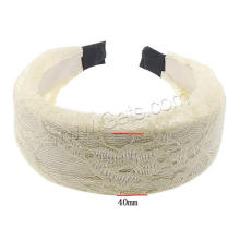 Gets.com Polyester breite Moissanit Band Ring