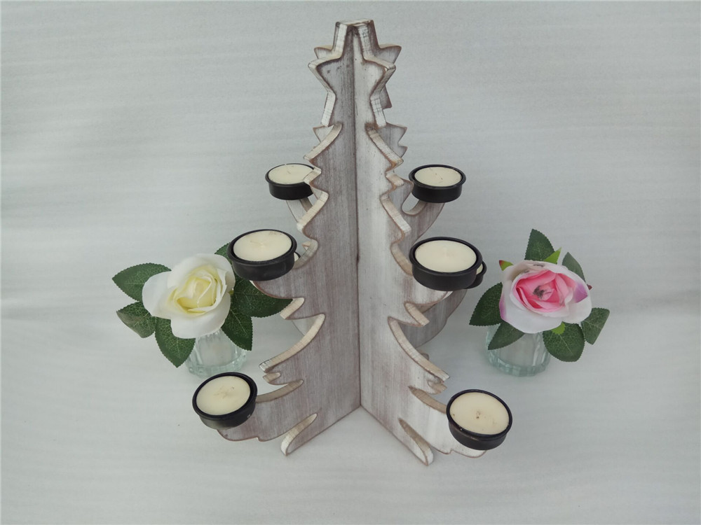 innovate wodoen candle holder