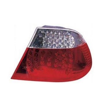 Auto Parts - Lámpara de Auto para BMW Crystal, Gris, con LED E46 2d