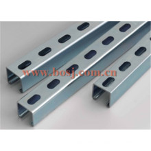 Perforated Solar Steel Bracket for Solar Collector Brackets Roll Forming Making Machine Israel