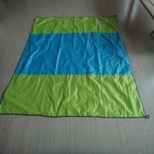 Outdoor Viajando Blanket Tela Coated tecido impermeável para piquenique, praia,