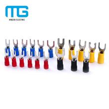 Best Price SV Copper Grounding Double Grip Spade Terminal Lug