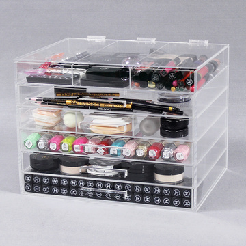 6 Tier Clear Acrylic Cosmetic Organizer