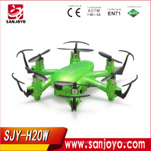 SJY-JJRC H20W Mini Wifi FPV 6 axis Gyro Quadcopter with 2MP HD Camera RC Toy Nano quadcopter vs JJRC H8 X1 Cheerson CX10