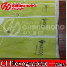 Machine d'impression de Flexo / papier / poly / HDPE / tissé / sac / satellite non tissé