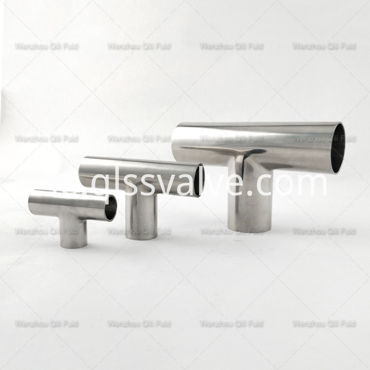Sanitary pipe fittings Tee x57