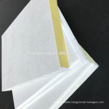 Acoustic roof fiber glass wool Ceiling Tile panel