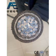 XLPE Insulation Screened Steel Wire Armoured Coppe Core Instrumentation Power Cable