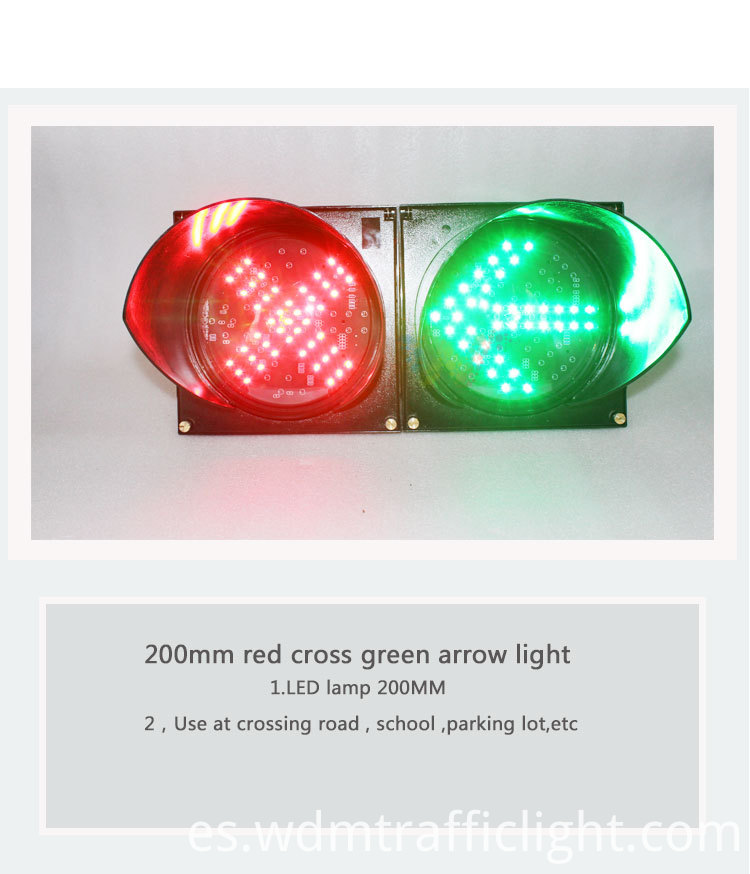 red cross green arrow traffic light-1