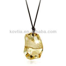 Pendentif en cristal de luxe en diamant de haute qualité