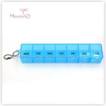 7 Grids Pill Box, 1 Week Pill Box, Plastic Pill Box
