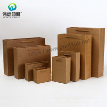 Recycle Offset Printing Paper Gift Bag with Cuatomized Logo
