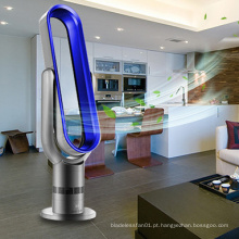 Função de Temporizador Liangshifu de 18 polegada de tela de Toque ABS Recarregável Torre oscilante ventilador bladeless chão
