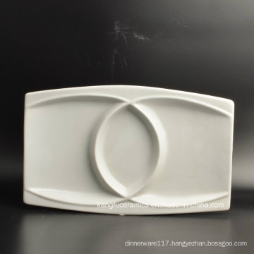 Hotel Use Fruit Plate Porcelain Dinner Plate