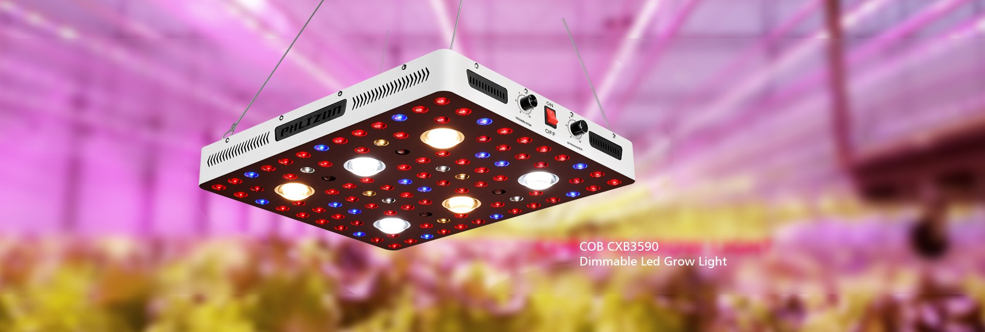 COB CXB3590 LED Plant Light