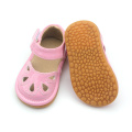 Mix Colors Pink Kids PU Leather Squeaky Shoes