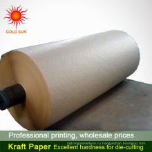 горячая продажа моющиеся крафт-бумага коричневый крафт-бумага