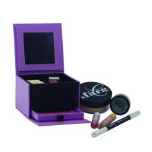 Embalagem cosmética de kit de maquiagem de papel