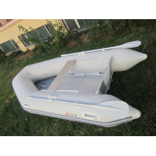 Kleine aufblasbare Fischerboot mit voller Set Ruder und Pumpe