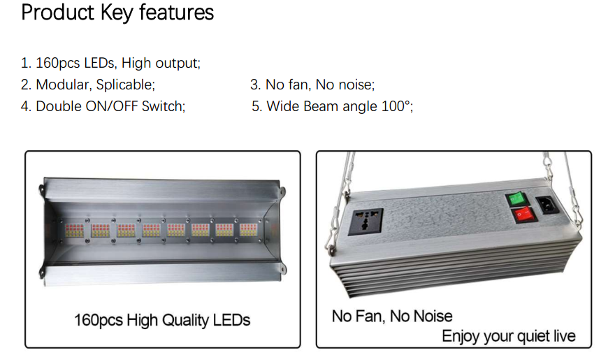 80w LED Grow Light