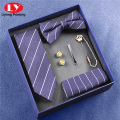 bow tie and tie set accessory gift box