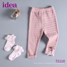 72110 Pantalon leggings fille de printemps