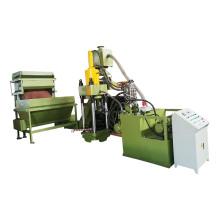 Machine de presse à briquettes de recyclage de fer à repasser hydraulique