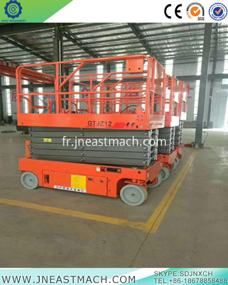 China Home Scissor Lift Self Propelled Scissor Platform