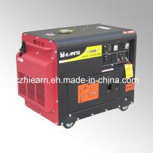 Groupe électrogène diesel refroidi par air silencieux portatif de 3kw (DG3500SE)